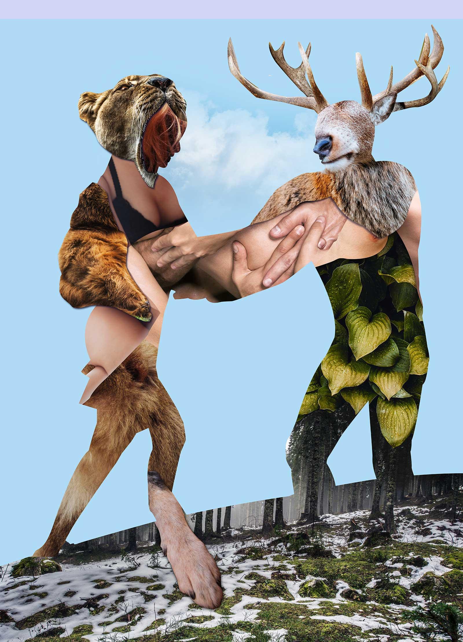 Heroes & Villains Angela Carter Tony Eddicott Art