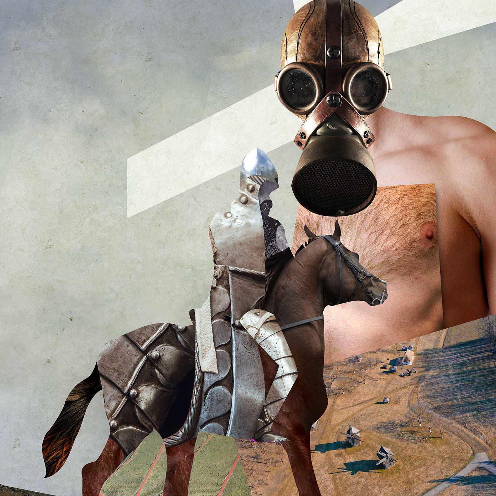 Quixotic Tony Eddicott Art